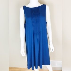 J.Jill Wearever Collection Women's L Blue Dress